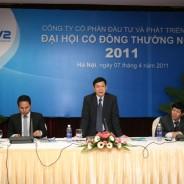 PV2: Đại hội đồng cổ đông thường niên năm 2011 kết thúc thành công
